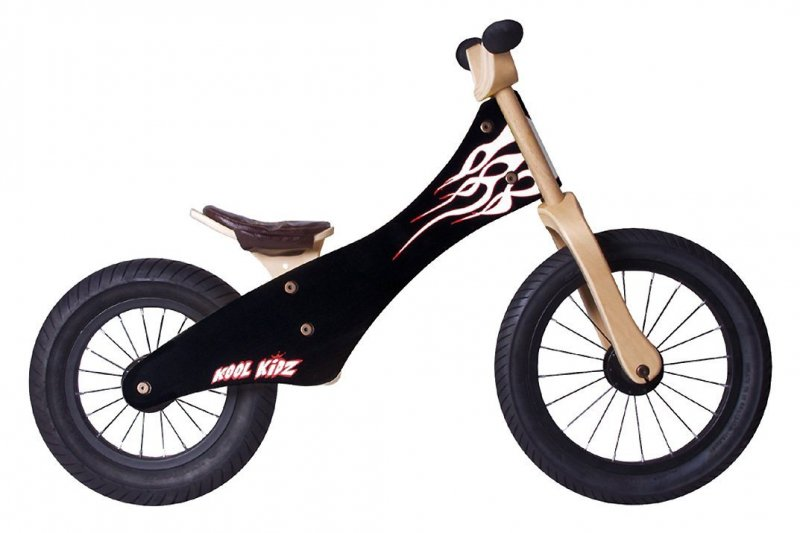 "Rebel KIDZ Laufrad ""Chopper"" 12"" Flame Speedster"