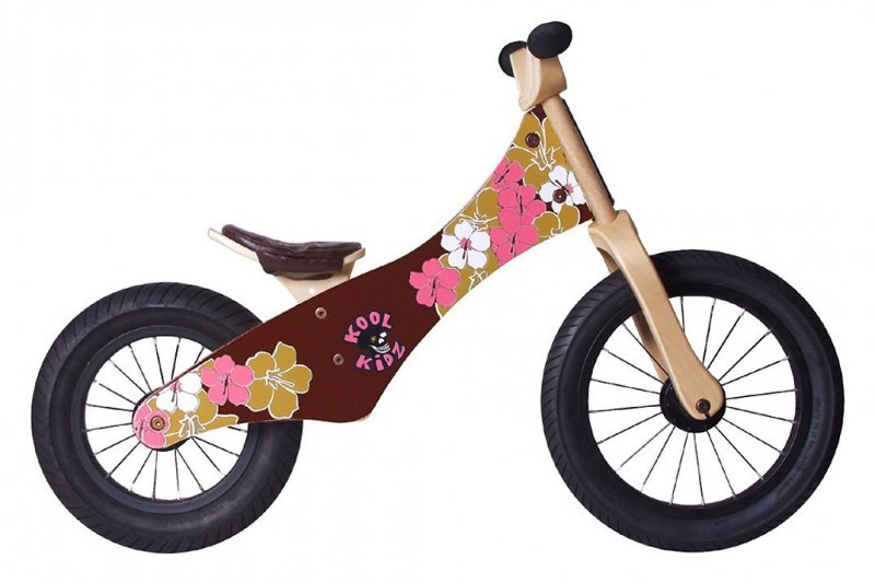 "Rebel KIDZ Laufrad ""Chopper"" Flower"
